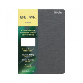 Maruman  N1493 Glyphy Notebook - A6 - Art Paper - 24 Pagina's