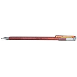 Pentel Hybrid Dual Metallic Shimmering Gel Pen - 1.0 mm - Oranje / Metallic Geel