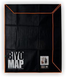 BiyoMap 140 x 160cm (Oranje  Bies)
