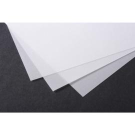 Clairfontaine Transparant A4 Kalligrafeer Papier, Extra Wit 180gram - 5 Vellen