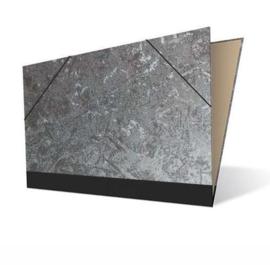 Tekenmap 50 x 70cm   Metallic Zilver  № 21