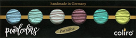 "Finetec / Coliro 6 Pearlcolors Set ""Paradise"""