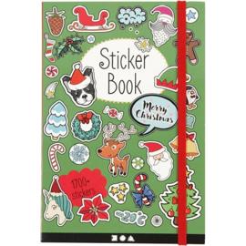 Mijn Bullet Journal Stickerboek - Kerst Editie