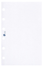 Standaard / Personal formaat  95 x 170mm  Succes Blanco Wit  100g/m² Notitiepapier