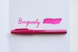 Pentel Touch Brush Sign SES15C  - Burgundy