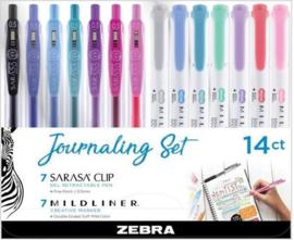 Zebra Journaling Set