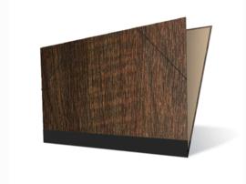 Tekenmap 35 x 50cm   Maple Hout  Donker   № 24