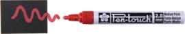 Sakura Pen-Touch Decomarker Rood  met Medium Punt (2.0mm)