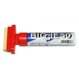 Kuretake ZIG Posterman Biggie 50 Short Marker - 50 mm Breed - Rood