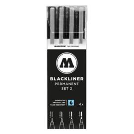 MOLOTOW™  Fineliner Blackliner  # 2 Set van  4