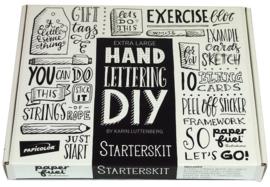 Handlettering DIY Paperfuel Starterskit