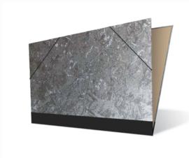 Tekenmap 25 x 35cm | Metallic Zilver № 21