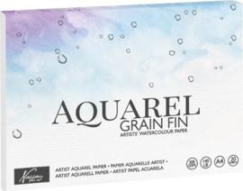 A4 formaat Aquarel & Ecoline Papier 20 Vel 300g /m2