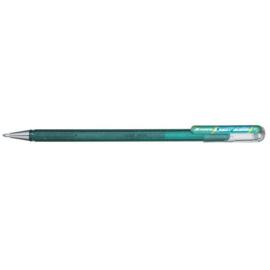 Pentel Hybrid Dual Metallic Shimmering Gel Pen - 1.0 mm - Groen / Metallic Blauw