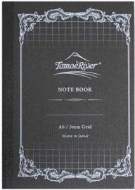 Tomoe River FP 5MM Ruit Notebook, A6 Wit 52g Papier 80 Vel = 160 Pagina's