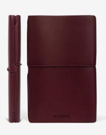 Modimo Refillable Basic Notebook / Planner - Bordeaux