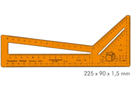 Perspective Set Square  | # 1183
