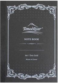 Tomoe River FP Dot Grid Notebook, A6 Wit 52g Papier 80 Vel = 160 Pagina's