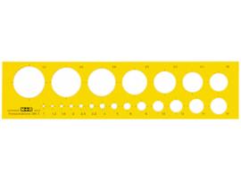 Cirkelsjabloon Möbius & Ruppert    # MR-85030670