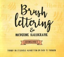 Brush Lettering & Modere Kalligrafie , Oefenschrift