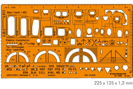 Architect  Combinatie  Sjabloon I # 7300