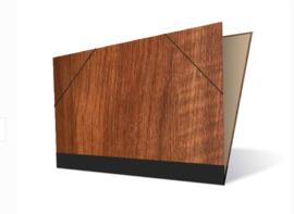 Tekenmap 25 x 35cm | Maple Hout  Licht  № 6