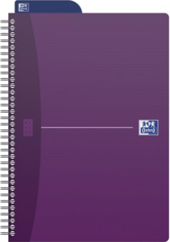 Oxford Dotted Notebook  ft  B5 = 17,6 × 25cm | Paars