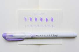 Zebra Mildliner Brush Pen - Mild Violet