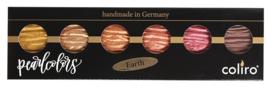 "Finetec / Coliro 6 Pearlcolors Set ""Earth"""