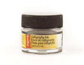 Speedball Kalligrafie Inkt - Zilver  - 12ml
