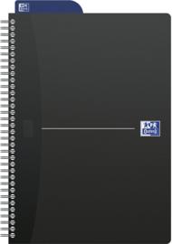 Oxford Dotted Notebook  ft  B5 = 17,6 × 25cm | Zwart