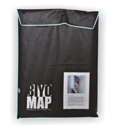 BiyoMap  40 x 50cm (Licht Blauwe Bies)