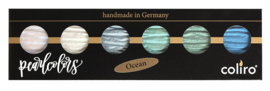 "Finetec / Coliro 6 Pearlcolors Set ""Ocean"""