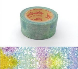 "Rink Washi Tape  - Watercolored Design -"" Candy アGari"""