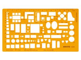 Architecten Meubelsjabloon Aristo schaal 1:100   # AR -5064
