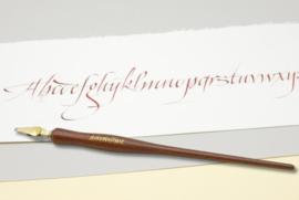Handwritmic Rose Wood Nib Penhouder