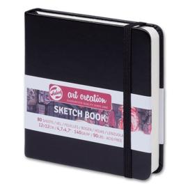 Talens Art Creation Schetsboek 12 x 12cm Kleur Omslag:  Zwart