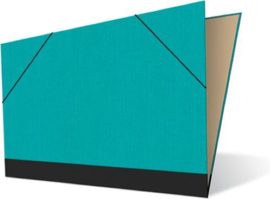 Tekenmap 25 x 35cm | Kashmir Turquoise № 20