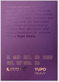 Legion Yupo Medium  Pad – 10 Vellen - 12.70 x 17.78cm 390g/m²