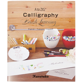 Zig A to Zig Calligraphy Brush Lettering - Basisgids - No. 2