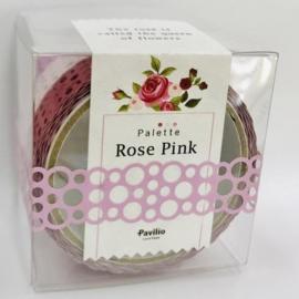 Pavilio Lace Masking Washi Tape Flower Pallet