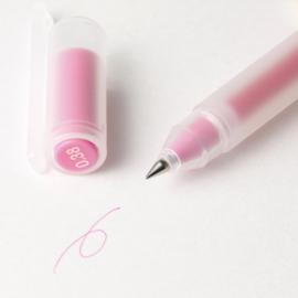 Muji Gel Pen - Kleur Inkt Roze  - 0.38mm