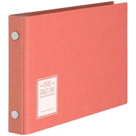 Maruman Make One's Day Binder - Mini Size - Red