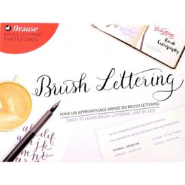 Brause Inleiding tot Brush Lettering praktijkkaarten - 297 x 210 mm