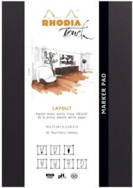 Rhodia Maya Pad A4+ Wit Blanco Papier  #116101C
