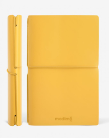 Modimo Refillable Basic Notebook / Planner - Geel