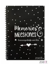 invulboek a5 memories & milestones