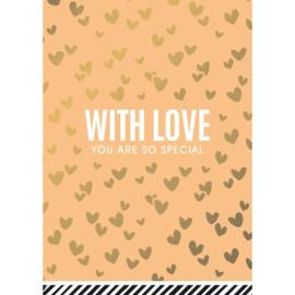 wenskaart with love