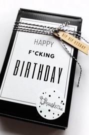 kadoosje happy f*cking birthday