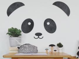 houten muurdecoratie panda